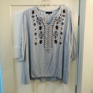Andrée embroidered blouse